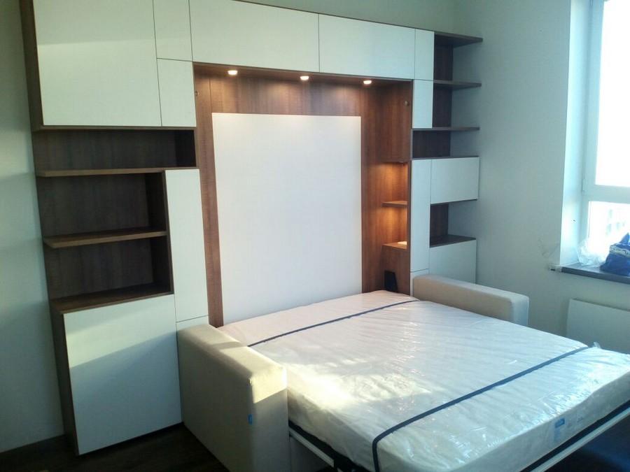 Кровати-трансформеры шкаф-кровать с диваном своими руками 974